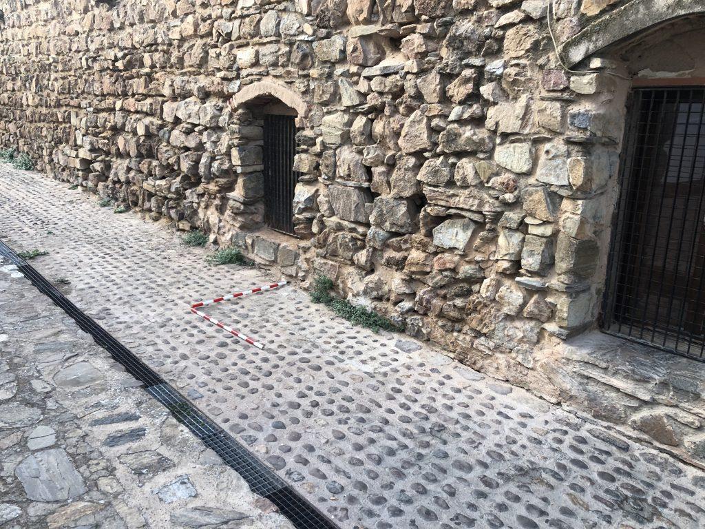 Muralla de Fuente del Maestre. Seguimiento Arqueológico