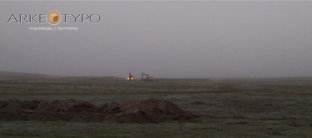 Dias de lluvia, niebla espesa